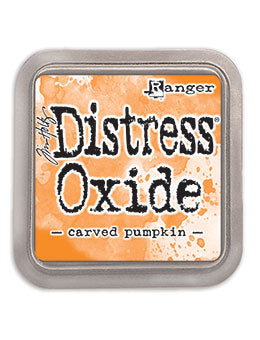 Distress Oxide Carved Pumpkin Full Size Ink Pad by Ranger/Tim Holtz