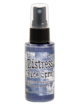 Distress Oxide Chipped Sapphire Ink Spray by Ranger/Tim Holtz