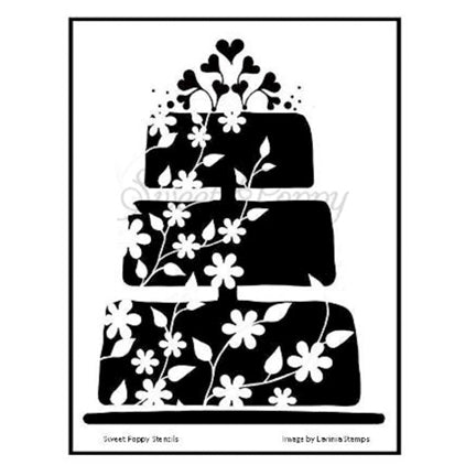 Cake Stencil by Sweet Poppy