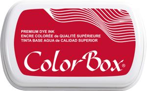 ColorBox Candy Red Premium Dye Ink Pad by ClearSnap