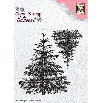 Christmas Fir Tree Stamp by Nellie's Choice