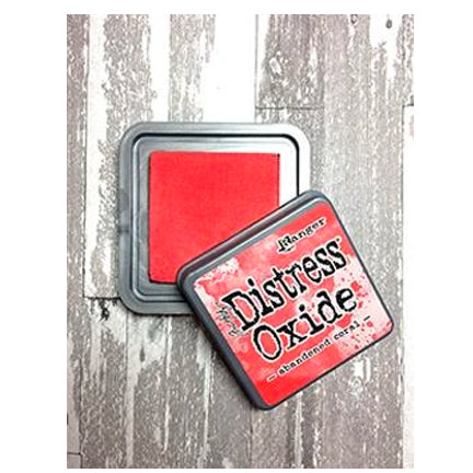 Distress Oxide Abandoned Coral Full Size Ink Pad by Ranger/Tim Holtz available at Del Bello's Designs