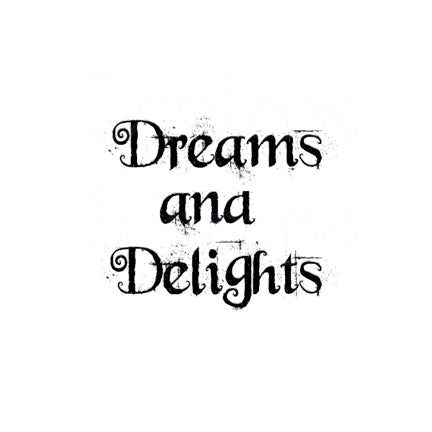 Dreams And Delights by Lavinia Stamps available at Del Bello's Designs
