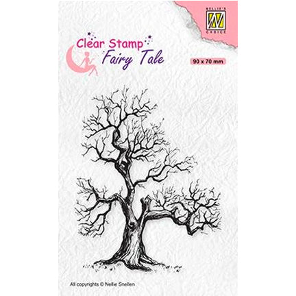 Elves' Tree Stamp by Nellie's Choice