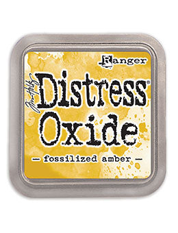 Distress Oxide Fossilized Amber Full Size Ink Pad by Ranger/Tim Holtz