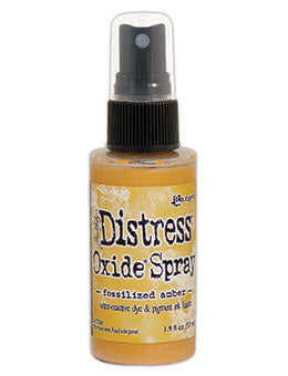 Distress Oxide Fossilized Amber Ink Spray by Ranger/Tim Holtz