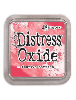 Distress Oxide Festive Berries Full Size Ink Pad by Ranger/Tim Holtz