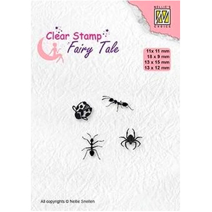 Fairy Tale Insects Stamp by Nellie's Choice