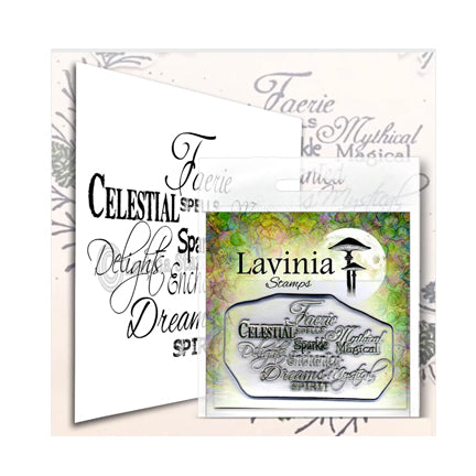 Faerie Spells by Lavinia Stamps available at Del Bello's Designs