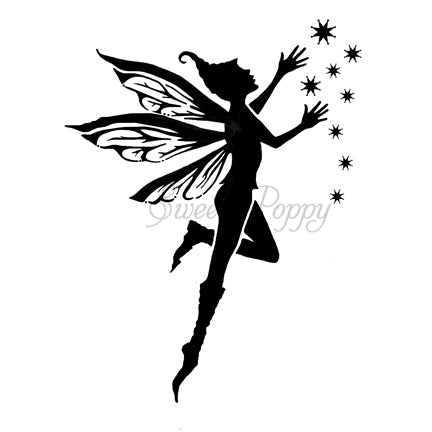 Fairie Stencil by Sweet Poppy