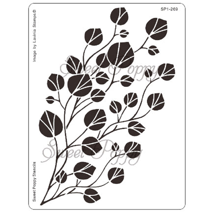 Foliage Stencil by Sweet Poppy
