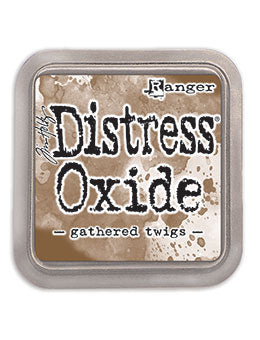 Distress Oxide Gathered Twigs Full Size Ink Pad by Ranger/Tim Holtz
