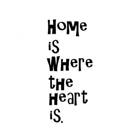Home is Where by Lavinia Stamps available at Del Bello's Designs