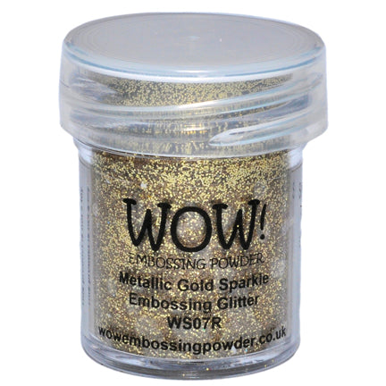 Metallic Gold Sparkle Glitter Embossing Powder by WOW!