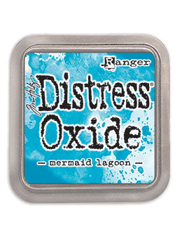 Distress Oxide Mermaid Lagoon Full Size Ink Pad by Ranger/Tim Holtz