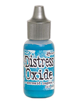 Distress Oxide Mermaid Lagoon Reinker by Ranger/Tim Holtz