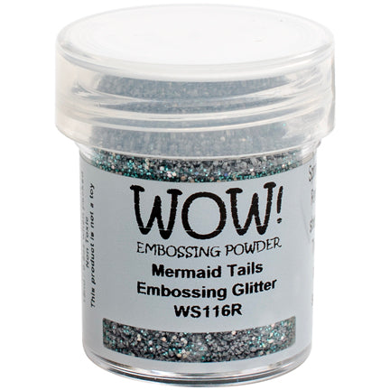 Mermaid Tails Glitter Embossing Powder by WOW!