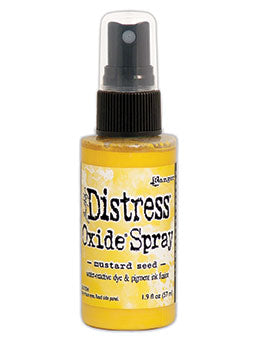 Distress Oxide Mustard Seed Ink Spray by Ranger/Tim Holtz