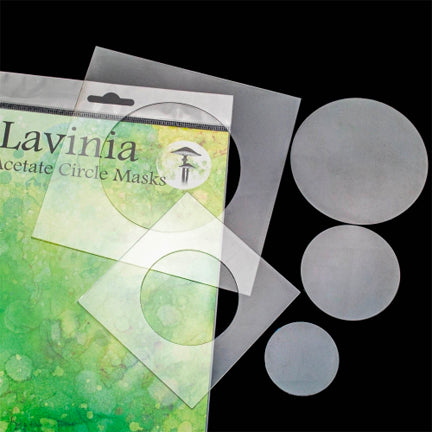 Acetate Circle Masks by Lavinia Stamps