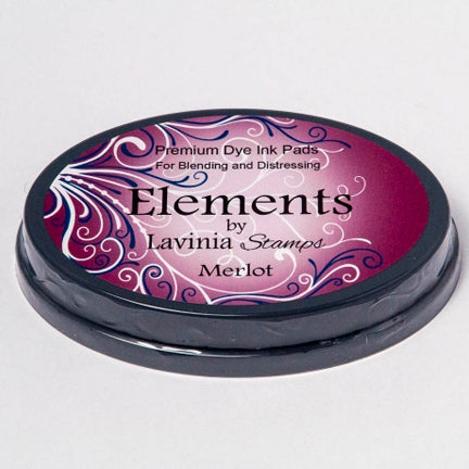 Elements Merlot Ink Pad by Lavinia Stamps