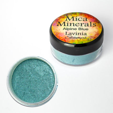 Mica Minerals Alpine Blue by Lavinia Stamps