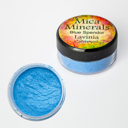 Mica Minerals Blue Splendour by Lavinia Stamps