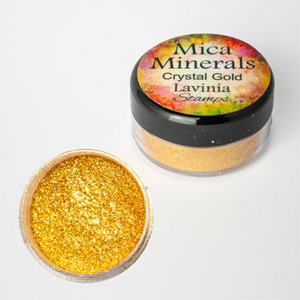 Mica Minerals Crystal Gold by Lavinia Stamps