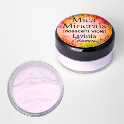 Mica Minerals Iridescent Violet by Lavinia Stamps