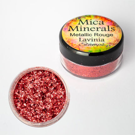 Mica Minerals Metallic Rouge by Lavinia Stamps