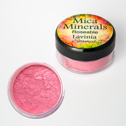 Mica Minerals Roseable by Lavinia Stamps
