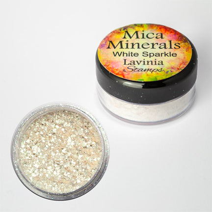 Mica Minerals White Sparkle by Lavinia Stamps