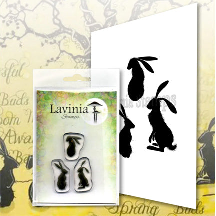 Wild Hares Set (Small) by Lavinia Stamps