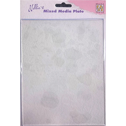 "Mixed Media Rectangle Plate, 6"" x 8"", by Nellie's Choice"