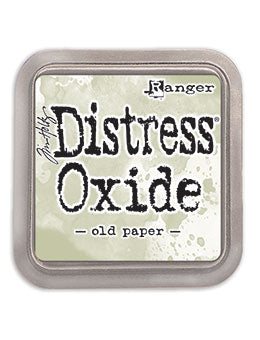 Distress Oxide Old Paper Full Size Ink Pad by Ranger/Tim Holtz