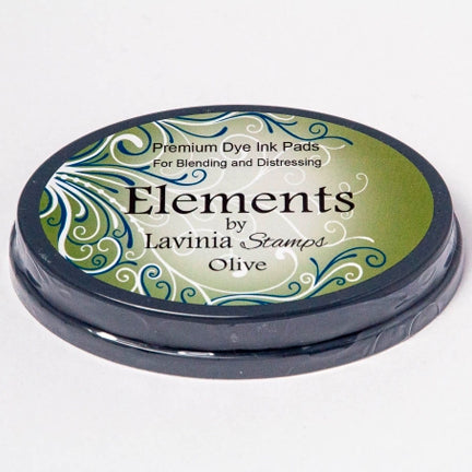 Elements Olive Ink Pad by Lavinia Stamps