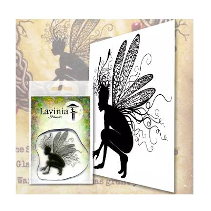 Oona by Lavinia Stamps LAV560 Artist Tracey Dutton available at Del Bello's Designs