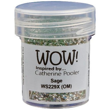 Sage Embossing Powder by WOW!