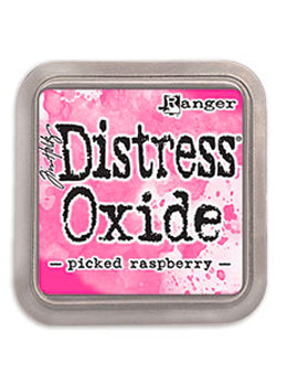 Distress Oxide Picked Raspberry Full Size Ink Pad by Ranger/Tim Holtz