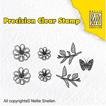 Anemone Precision Stamp Set by Nellie's Choice