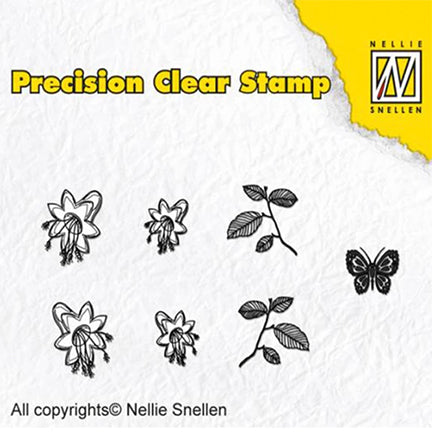 Bell Flower Precision Stamp Set by Nellie's Choice