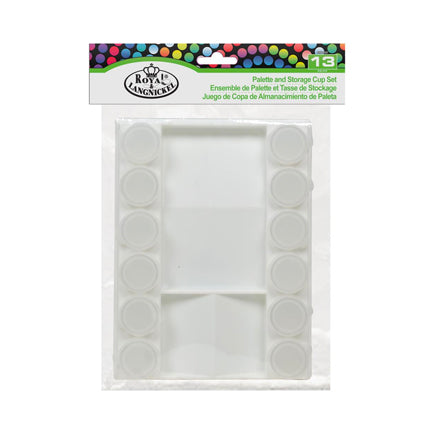 Buddy Cup Palette & Storage Set by Royal Brush available at Del Bello's Designs