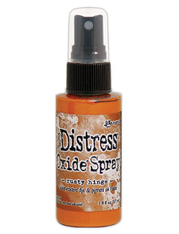 Distress Oxide Rusty Hinge Ink Spray by Ranger/Tim Holtz