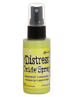 Distress Oxide Squeezed Lemonade Ink Spray by Ranger/Tim Holtz