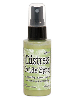 Distress Oxide Shabby Shutters Ink Spray by Ranger/Tim Holtz