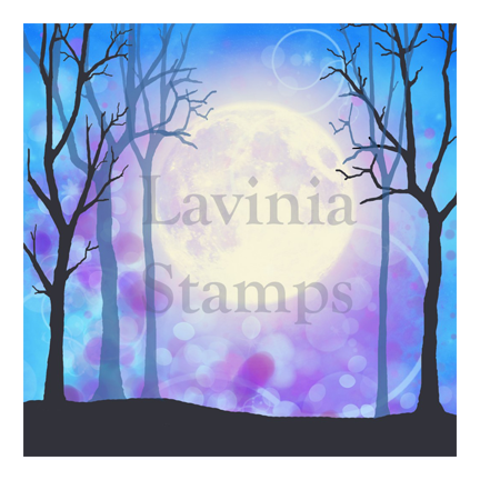 Blue Sky SceneScapes by Lavinia Stamps Artist Tracey Dutton
