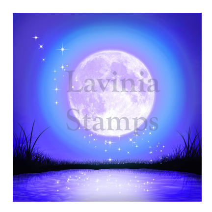 Moonlight Glow SceneScapes by Lavinia Stamps Artist Tracey Dutton