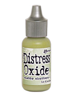 Distress Oxide Shabby Shutters Reinker by Ranger/Tim Holtz