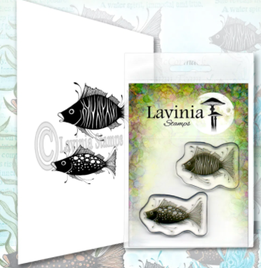 *Pre-Order* Fish Set by Lavinia Stamps *Pre-Order*