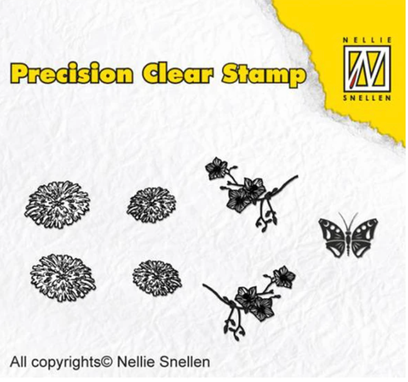 Dandelion Precision Stamp Set by Nellie's Choice