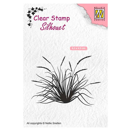 Silhouette Blooming Grass 2 Stamp by Nellie's Choice
